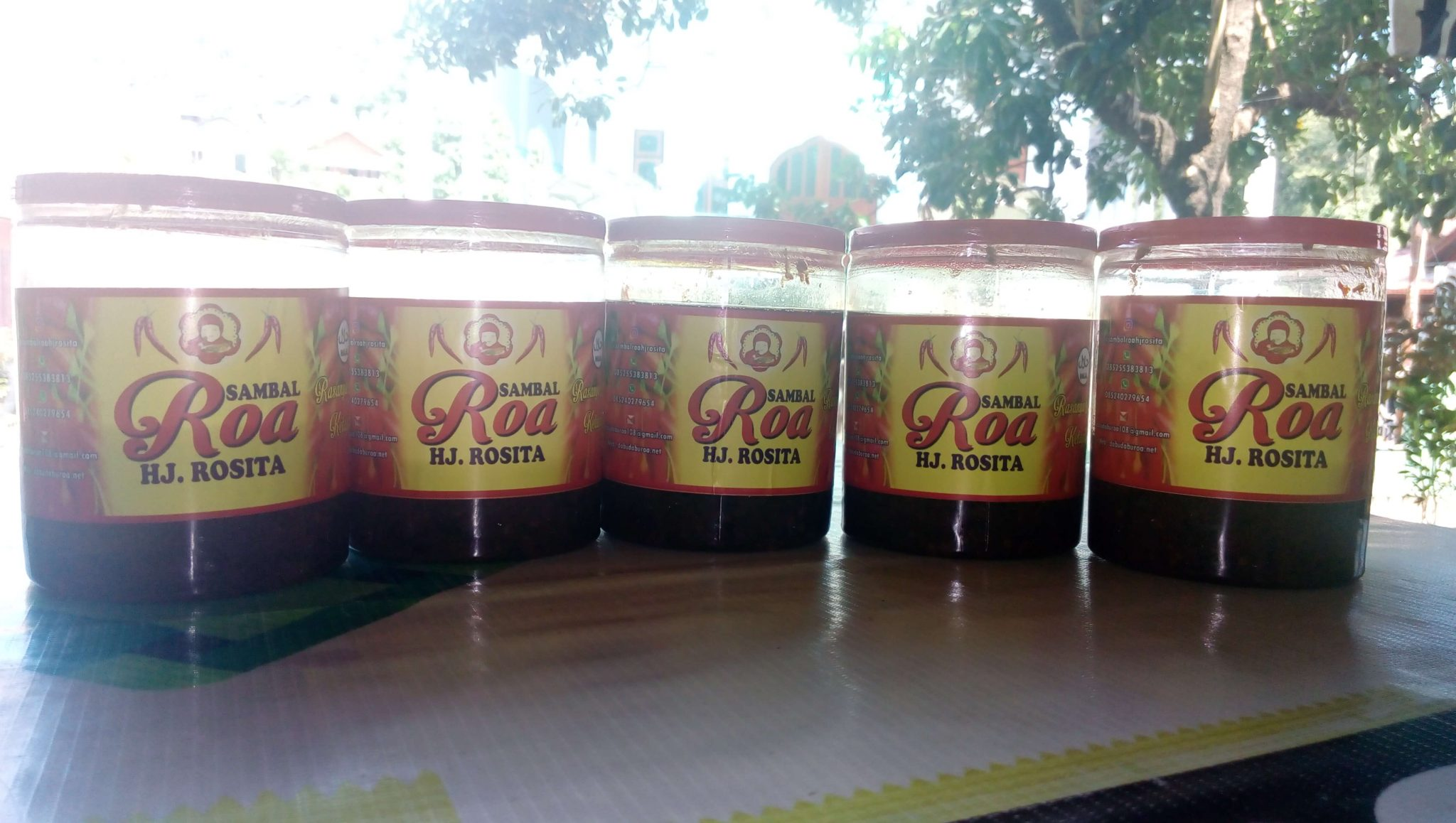 Jual Sambal Roa di Mataram 085299330523