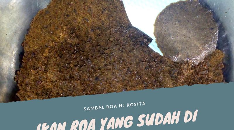 Jual Sambal Roa di cilacap 085255383813