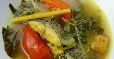 Resep Sup Ikan Nila kemangi ala sambal roa hj rosita