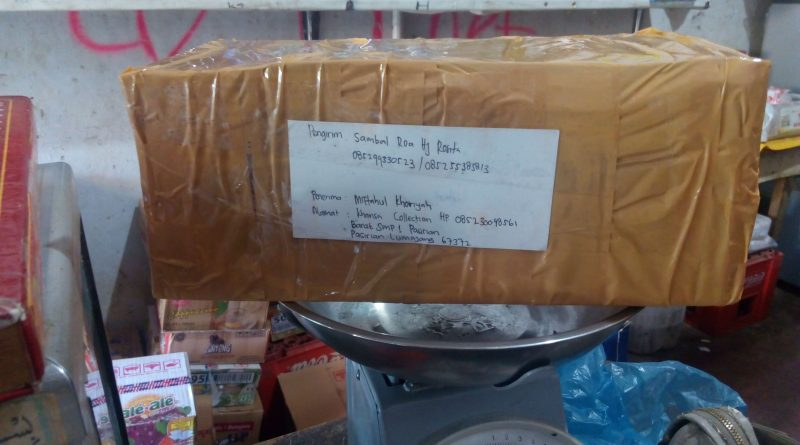 Sambal Roa Siap di kirim ke lumajang 085299330523