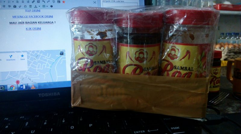 Jual Sambal Roa Di Banjarnegara 085299330523
