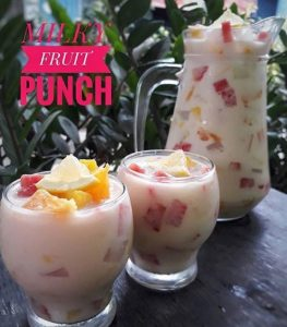 Resep Milky Fruit Punch