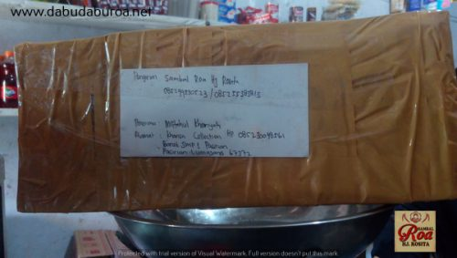 sambal ikan roa online WA 085299330523