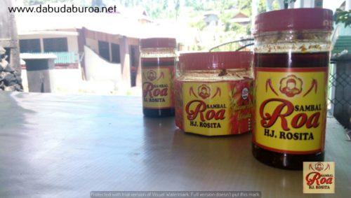grosir sambal roa di Ciamis WA 085299330523
