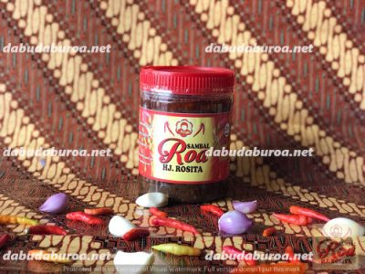sambal roa production di  Surabaya WA 0852 9933 0523