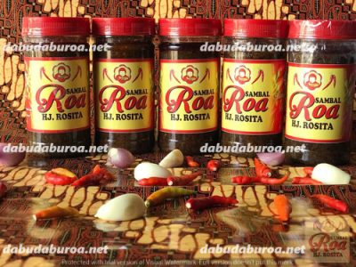 sambal roa khas manado  di Tanjung Selor WA 0852 9933 0523