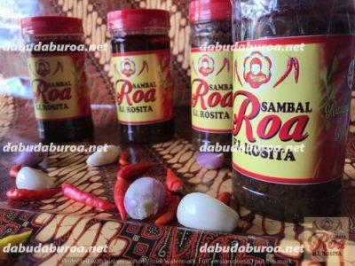 sambal roa production di  Fakfak WA 0852 9933 0523
