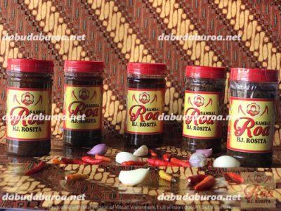 sambal roa khas manado  di Mbay WA 0852 9933 0523