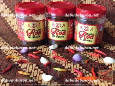 sambal roa paling enak  di Muntok WA 0852 9933 0523