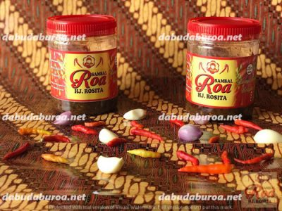 sambal roa production di  Tais WA 0852 9933 0523