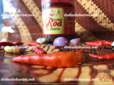 sambal roa production di  Kupang WA 0852 9933 0523