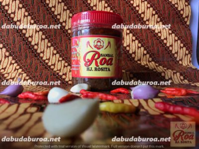 sambal roa production di  Bula WA 0852 9933 0523