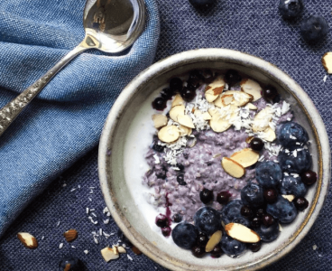 Resep Masakan Blueberry-Coconut Baked Steel Cut Oatmeal