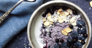 Resep Masakan Blueberry-Coconut Baked Steel Cut Oatmeal