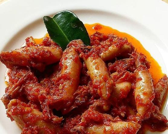 Resep Masakan Cumi asin sambal goreng enak