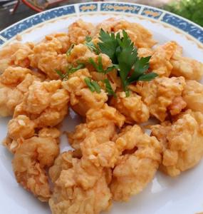 Resep Udang Crispy Saus Telur Asin