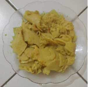 Resep Masakan Rebung Kering