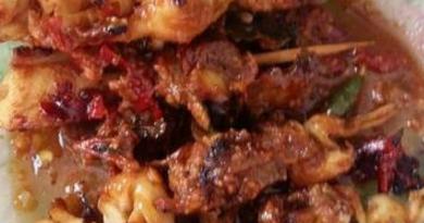 Resep Masakan Sate Jamur