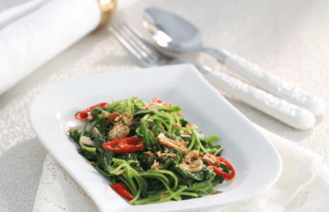 Resep Masakan Bayam Tumis Pedas Sederhana Dan Istimewa