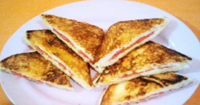 Resep Roti Bakar Semi Sandwich Enak dan Sederhana