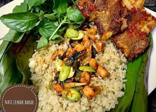 Resep Nasi Lemak Bakar Sederhana dan Istimewa